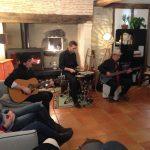 Concert chambre hotes Gers Au Perisson